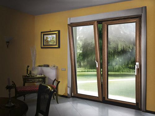 Produzione infissi legno alluminio palermo nc porte e for Finestre legno e alluminio prezzi