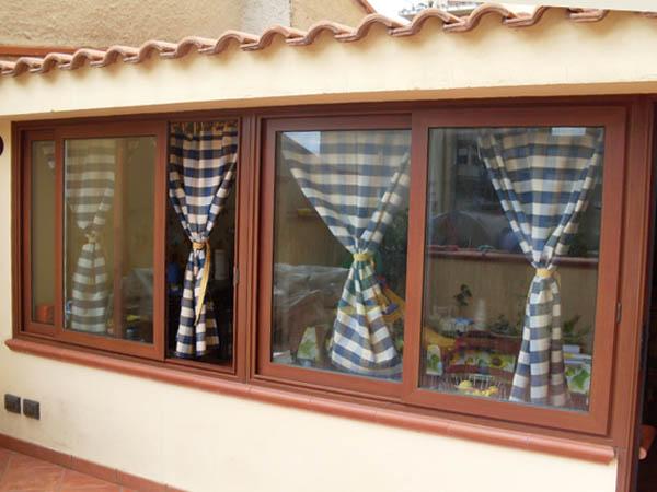 Verande alluminio pvc palermo nc porte e finestre - Porte e finestre palermo ...